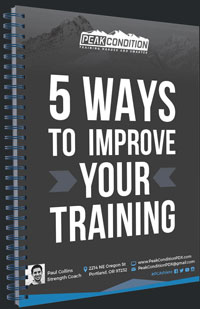 Peak Condition 5 Ways to Improve Your Training